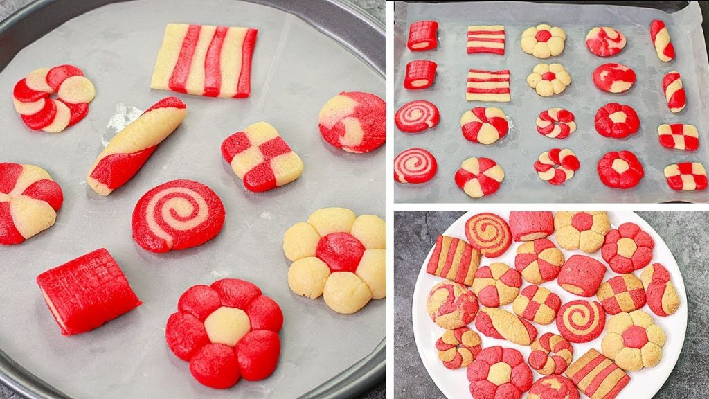10 Christmas Cookies Recipe | Eggless & Without Oven | Yummy