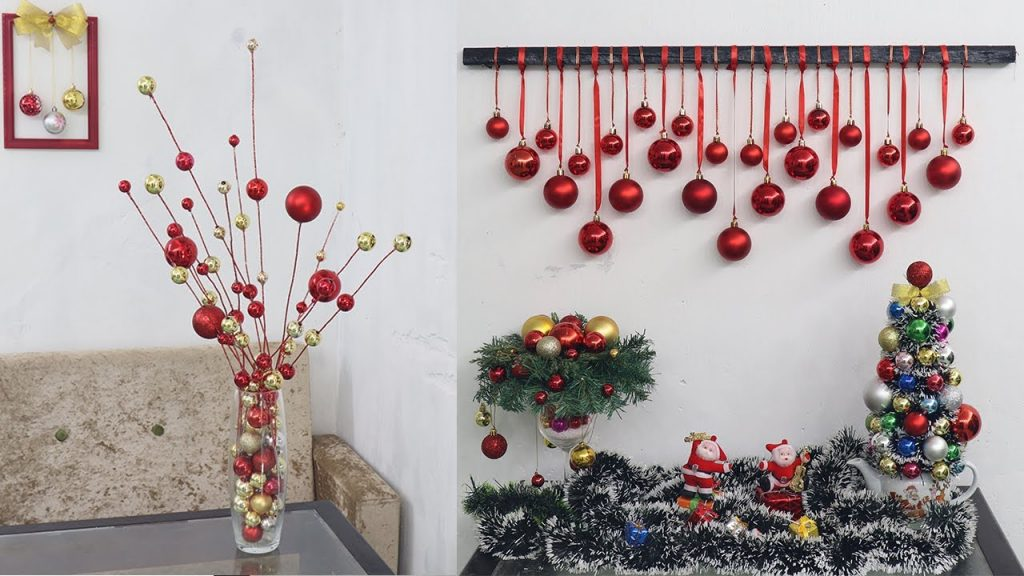 10 Christmas decoration ideas at home| Christmas decoration ideas 2021