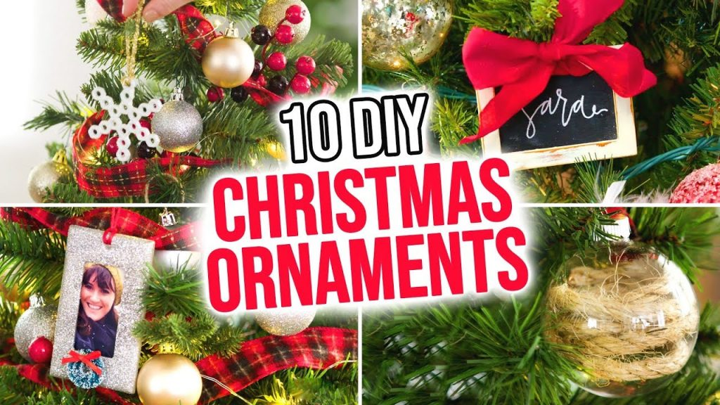 10 DIY Christmas Ornaments – HGTV Handmade