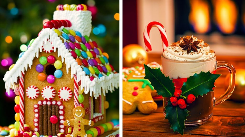 10 Holiday Desserts to Eat While Waiting for Santa!! Yummy Holiday Cakes, Cupcakes and More!
