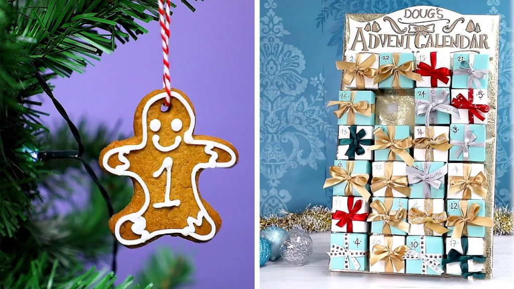18 Festive Advent Calendar Ideas And DIY Christmas Decorations
