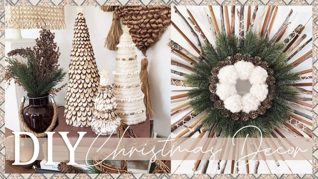 2 BOHO DIY CHRISTMAS DECORATIONS