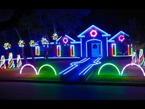 2015 Johnson Family Dubstep Christmas Light Show – Featured on ABC's The Great Christmas Light Fight
