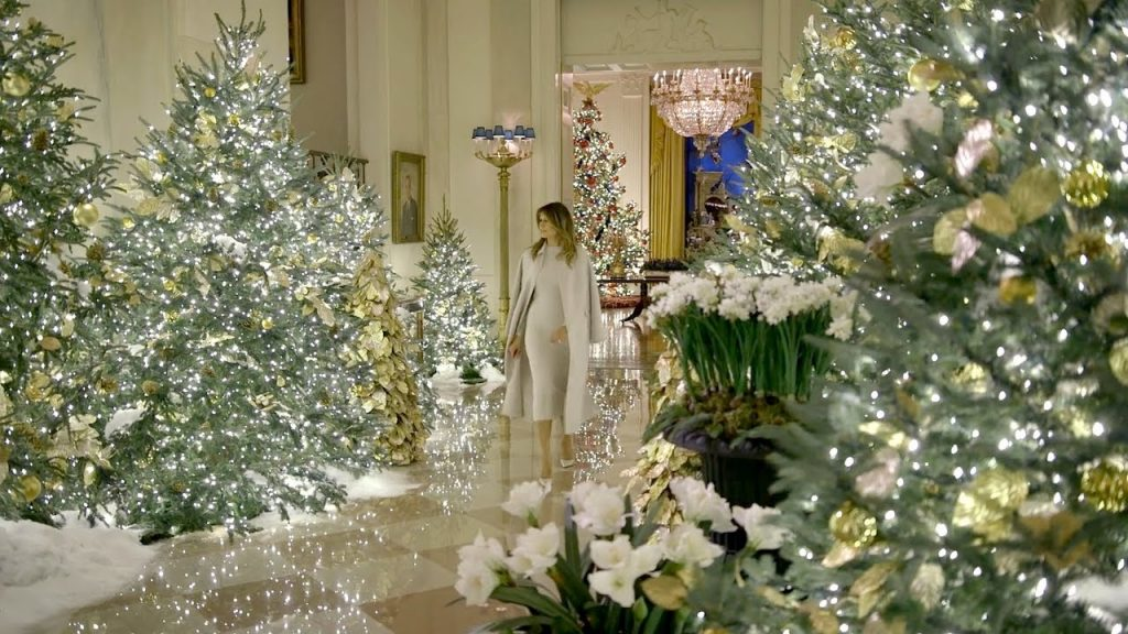2019 Christmas Decorations at the White House