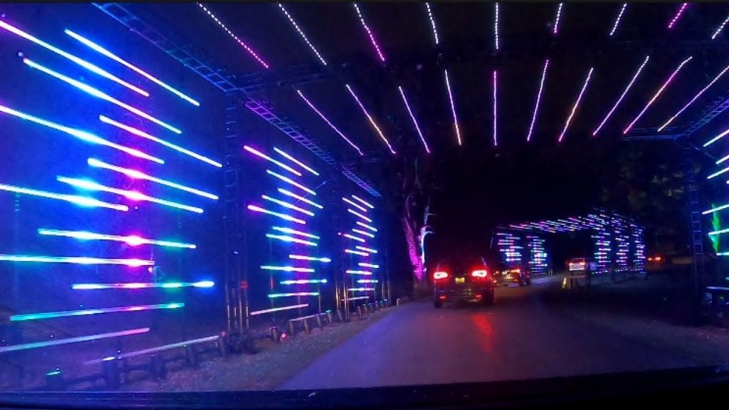2020 Christmas Lights Drive Through The Forest