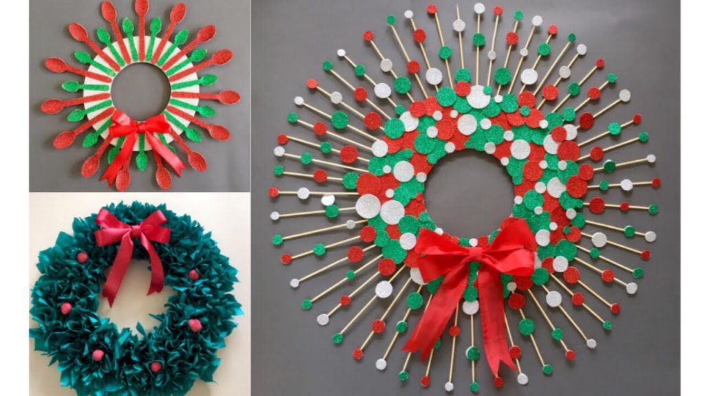 3 Diy Christmas Decoration ideas | Diy Christmas Wreath ideas
