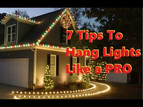 7 time-saving tips for installing Christmas lights FAST
