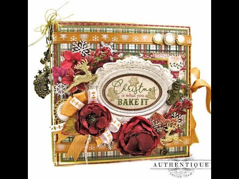 Authentique Rejoice Christmas Recipe Folio