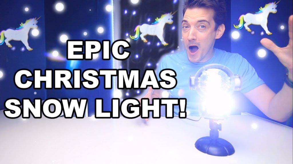 BEST CHRISTMAS SNOW LIGHT LED PROJECTOR? CHRISTMAS LIGHTS!