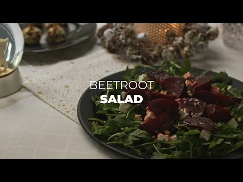 Beetroot Salad – Christmas Recipe | Recipe by Teka