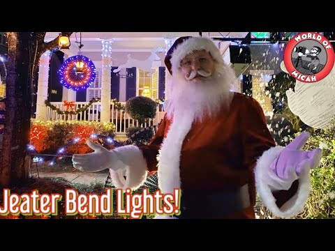 Best Christmas Lights in Florida | Jeater Bend Celebration, FL 2020