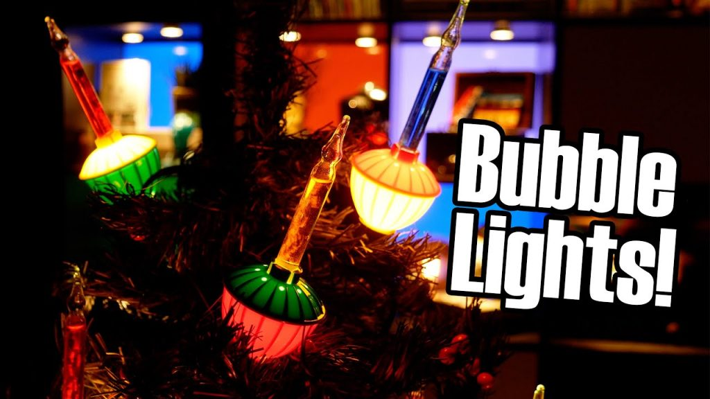 Bubble Lights: The Weirdest Christmas Light?