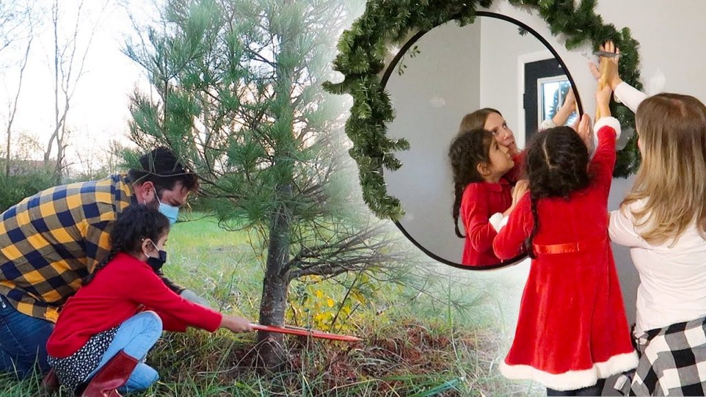 CHRISTMAS DECORATING CONTEST & CUTTING DOWN OUT FIRST CHRISTMAS TREE! +HUGE Cassidy Milestone!!