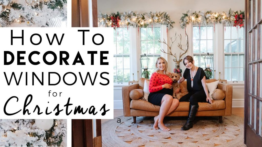 CHRISTMAS DECORATING | How to Decorate Windows for Christmas | Kinwoven Christmas