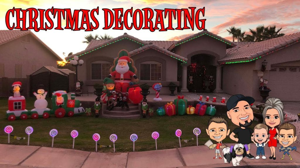 CHRISTMAS DECORATING SHOPPING 2018 | INFLATABLES | D&D FAMILY VLOGS