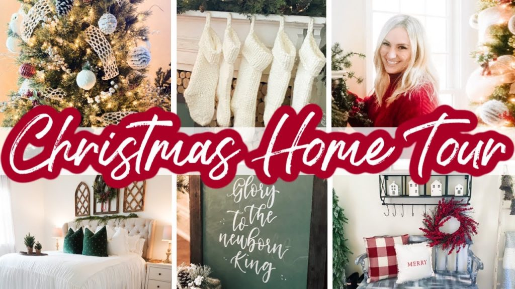 CHRISTMAS HOME TOUR 2020 | COZY CHRISTMAS DECORATING IDEAS