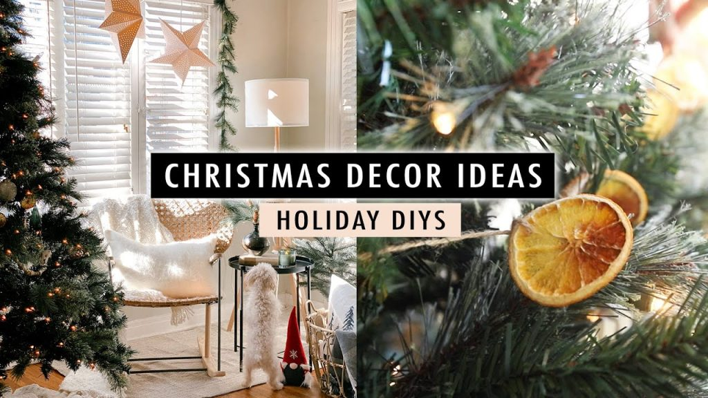 Christmas Decor Ideas + Holiday DIYs (Scandinavian Decor) | XO, MaCenna