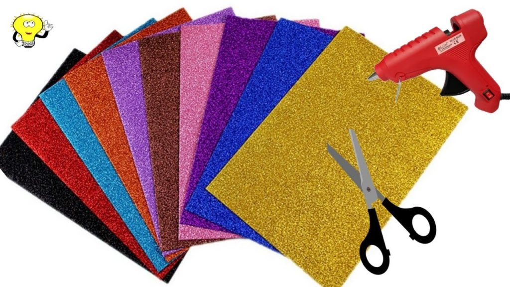 Christmas Decoration Ideas 2021 – DIY – Christmas Ornament Tutorial – Glitter Foam sheet – Foamiran