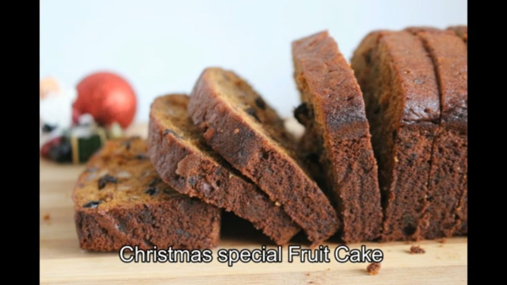 Christmas Fruit Cake Recipe with Rum l Kerala Plum Cake Recipe