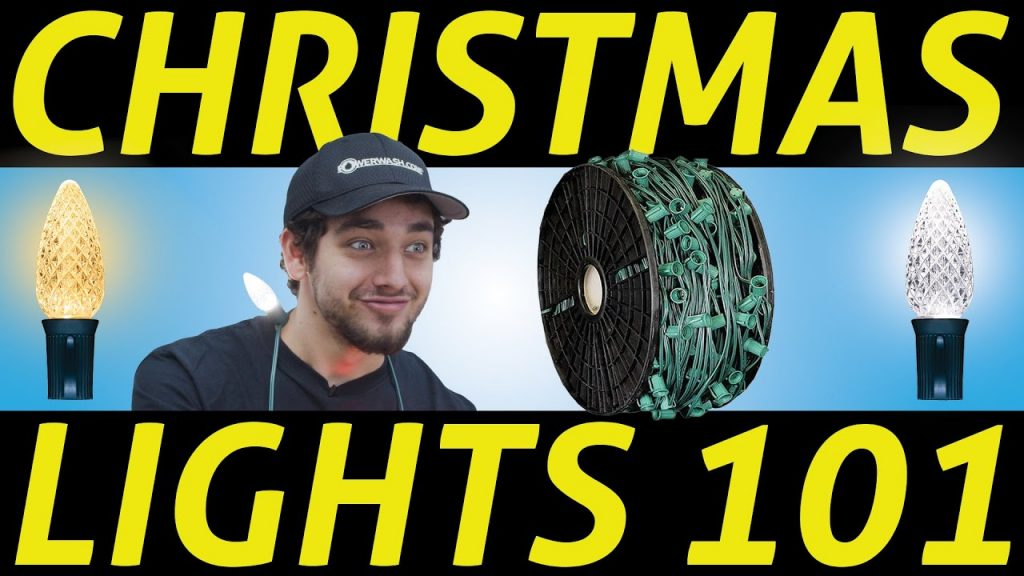 Christmas Light Supply Basics | Using C9 Cord