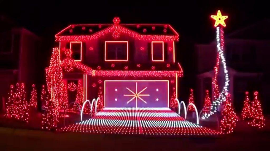 Christmas Lights at Station Drive
