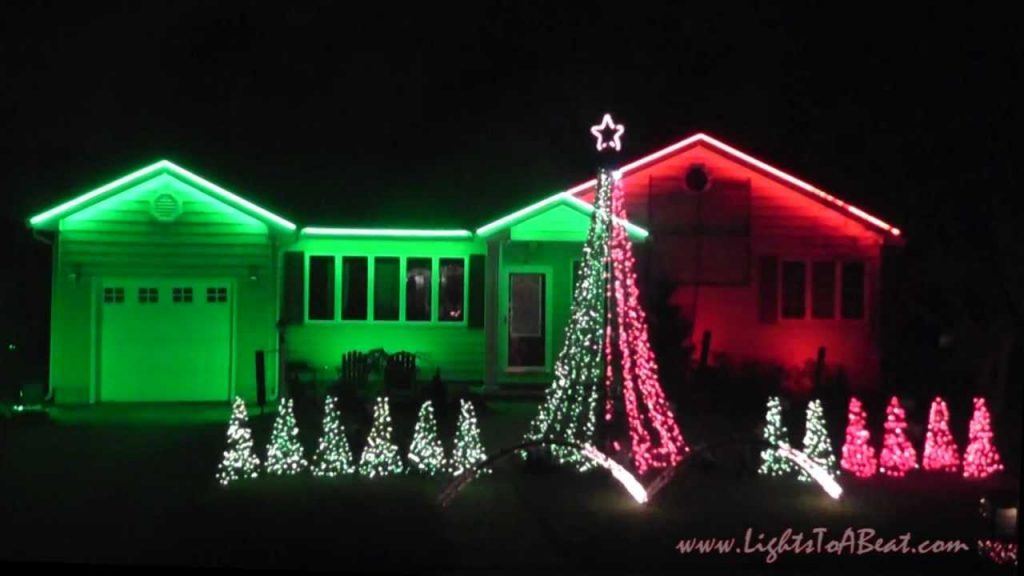 Christmas Lights to Music Box Dancer (2012)