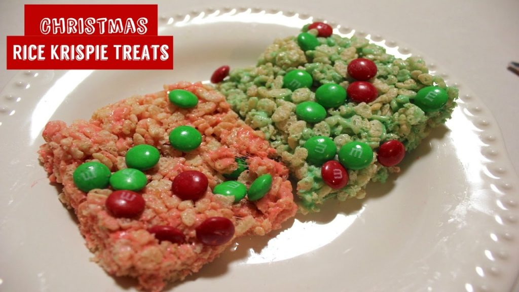 Christmas Rice Krispie Treats: Easy Homemade Rice Crispy Treats Recipe