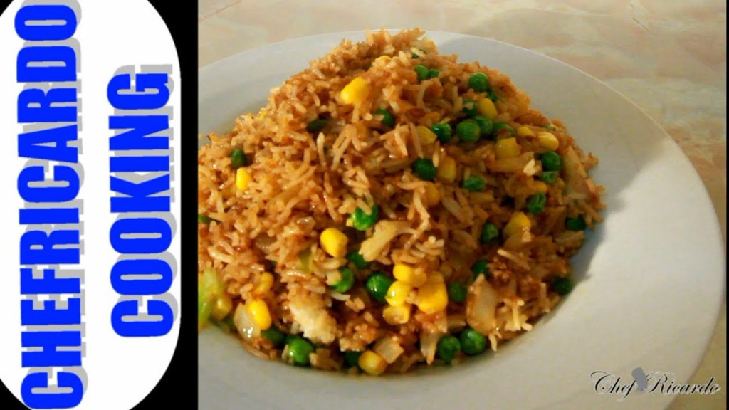 Christmas Stir Fry Rice Recipe (Jamaican & Caribbean Cooking) | Recipes By Chef Ricardo