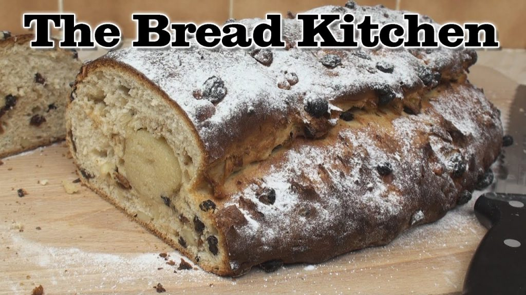 Christmas Stollen Recipe in The Bread Kitchen