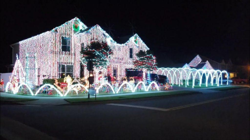 Christmas lights Display Winter Garden Florida 2020
