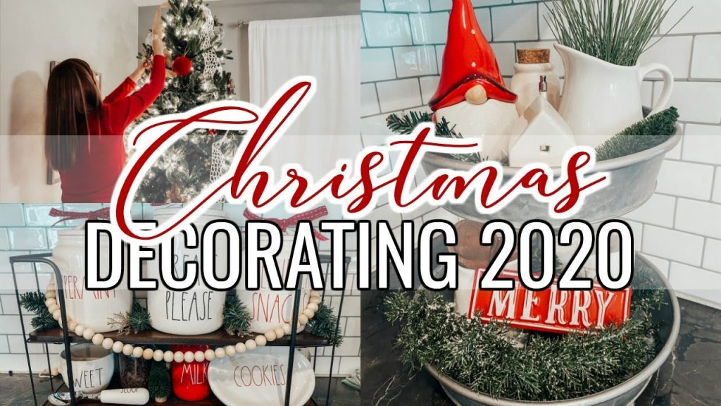 DECORATE WITH ME FOR CHRISTMAS 2020 | CHRISTMAS DECORATING IDEAS + DECORATING MY CHRISTMAS TREE!