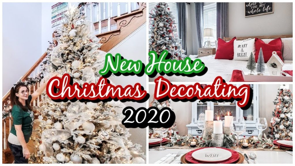 Decorating My New House for Christmas! Clean & Decorate With Me for Christmas 2020