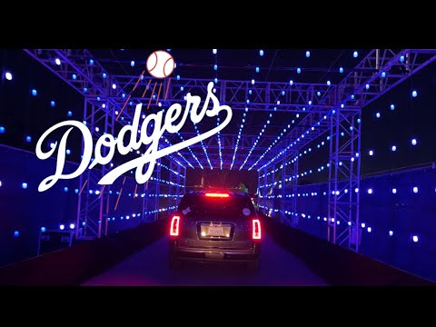 Dodgers Holiday Festival 2020 | Dodger Stadium Christmas Lights Drive-Thru