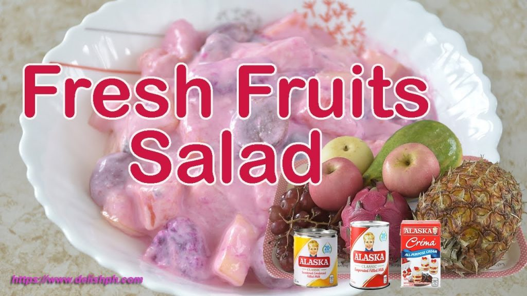 FRESH FRUITS SALAD | CHRISTMAS RECIPE SERIES