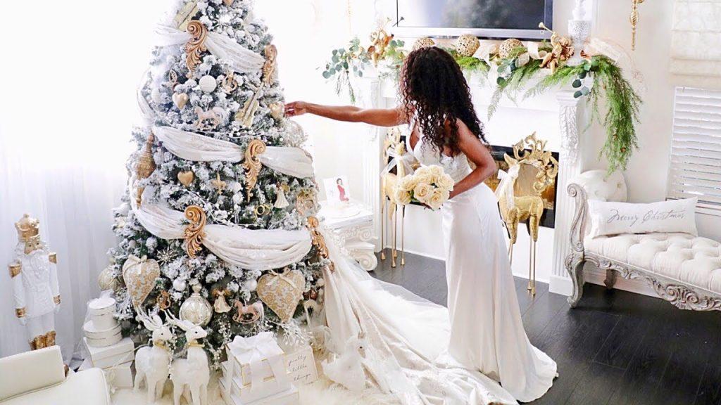 Fairy Tale Christmas Romantic Christmas decorating Ideas Decorate My Tree DIY Gold Decorations DIY