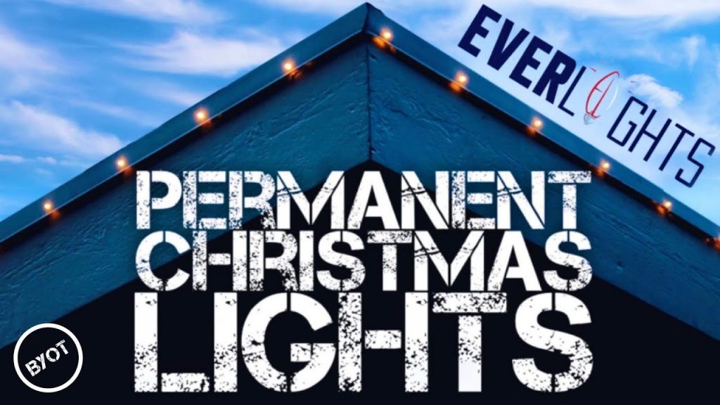 HOW TO INSTALL PERMANENT CHRISTMAS LIGHTS : EVERLIGHTS