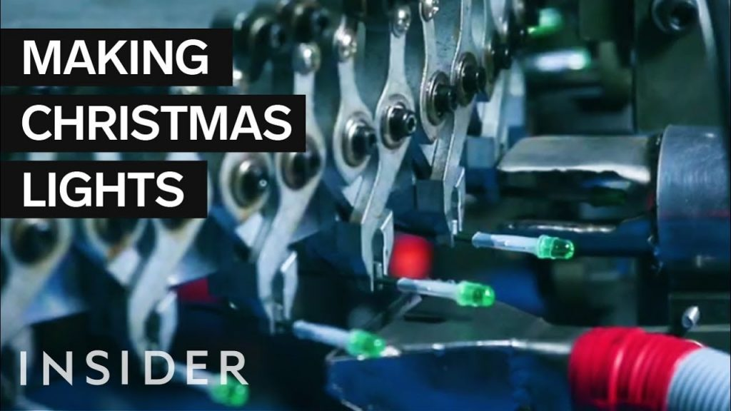 How Christmas Lights Are Made