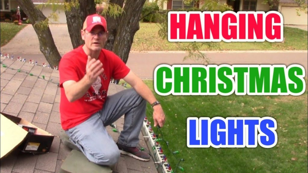 How To Hang Christmas Lights On Your Roof | Tips And Tricks!!!