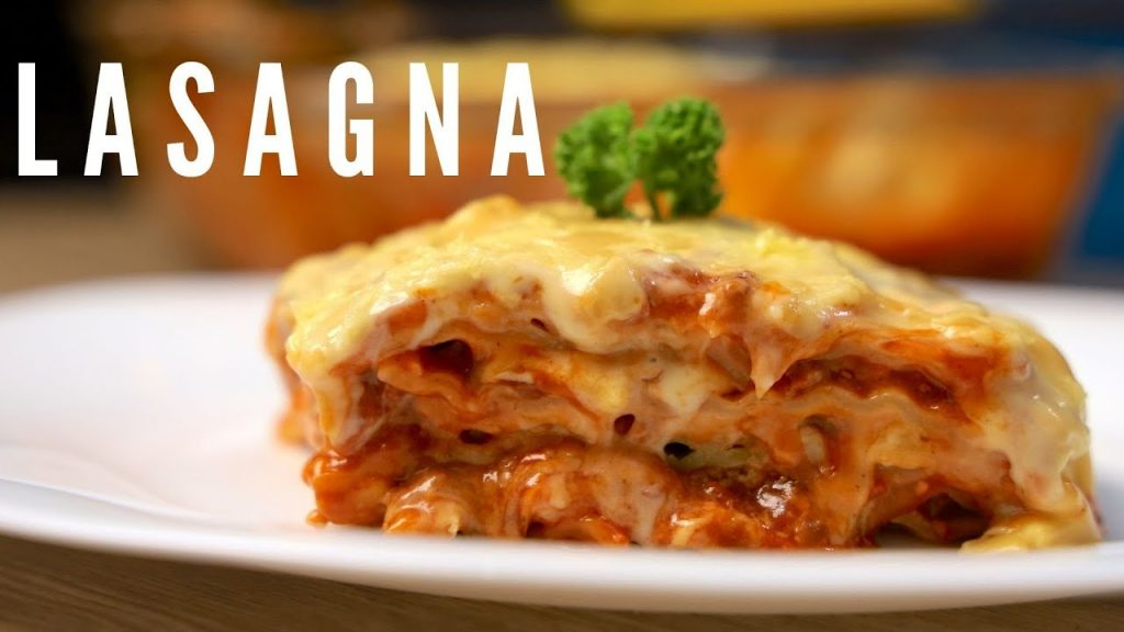 How To Make Lasagna Recipe ( Christmas Recipe )