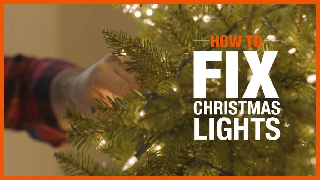 How to Fix Christmas Lights | Holiday DIYs and How-Tos | The Home Depot