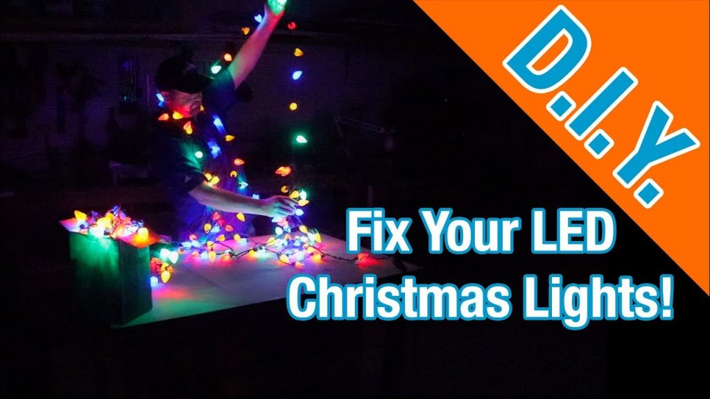 How to Fix LED Christmas Lights