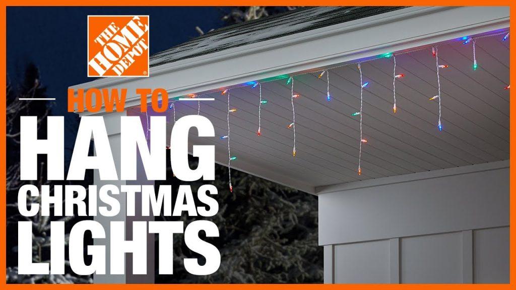 How to Hang Christmas Lights | The Home Depot