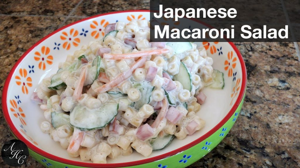 How to make easy Macaroni Salad (Japanese Style) [Holiday / Christmas Recipe] | 簡単マカロニサラダの作り方 レシピ