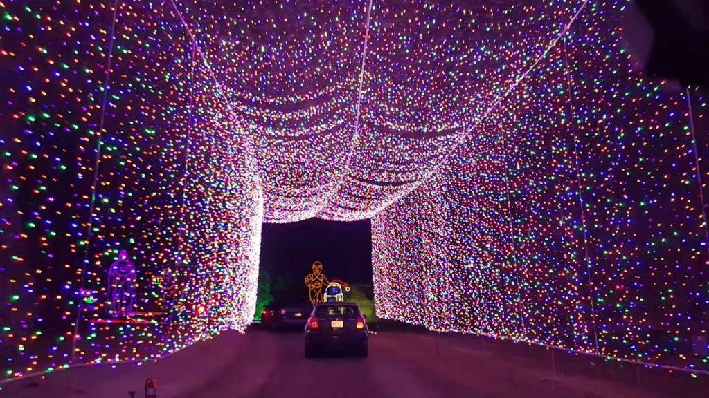 Lights Under Louisville 2019! Christmas Lights display at the Louisville, Ky. MEGA Cavern