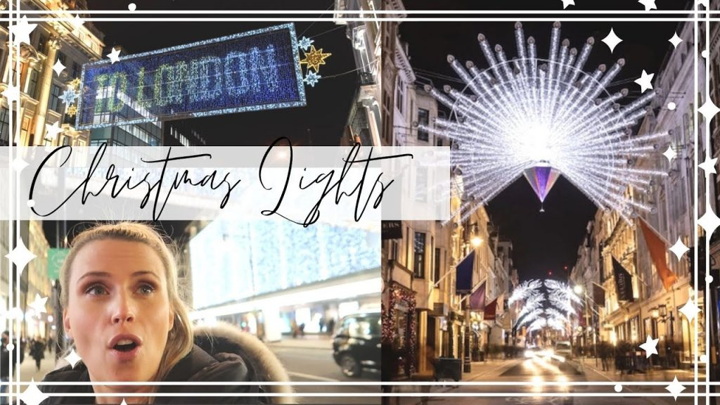 London Oxford Street Christmas Lights 2020
