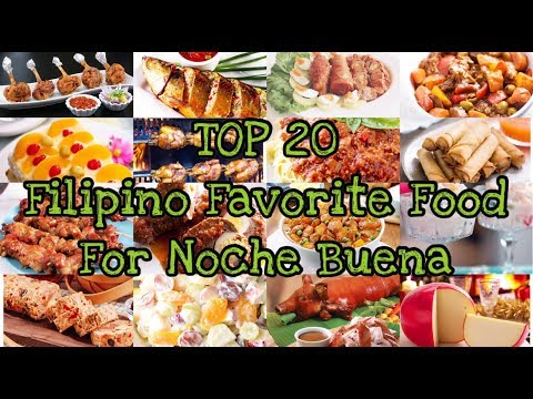 MY TOP 20 FILIPINO FAVOURITE FOOD FOR NOCHE BUENA | CHRISTMAS EVE FILIPINO FOOD | Pepperhona TV