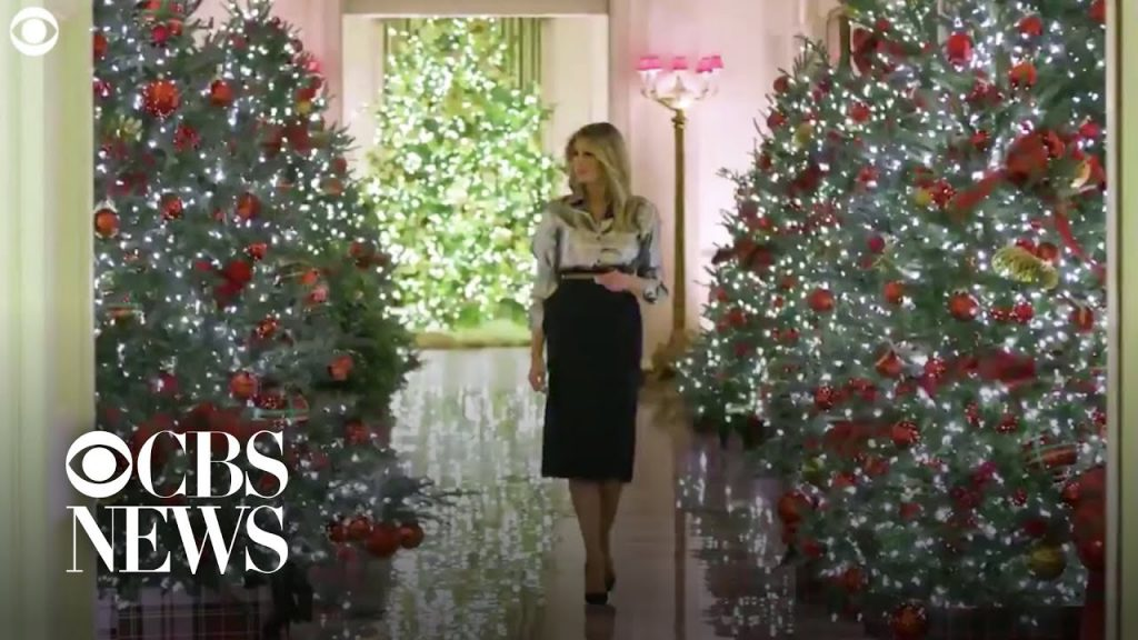 Melania Trump unveils 2020 White House Christmas decorations