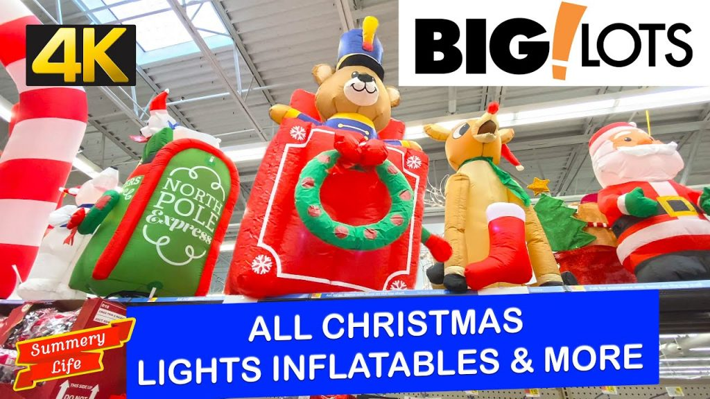 NEW 2020 BIG LOTS CHRISTMAS LIGHTS INFLATABLES AND ALL CHRISTMAS OUTDOOR DECORATIONS