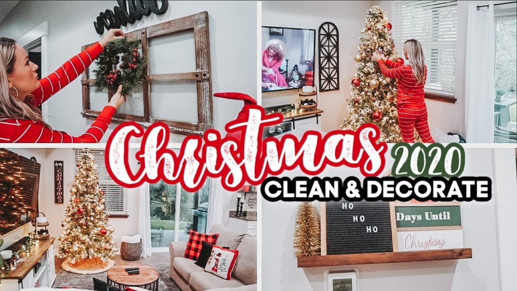 *NEW* 2020 CHRISTMAS DECORATE WITH ME | CHRISTMAS DECOR | CLEAN + DECORATE WITH ME