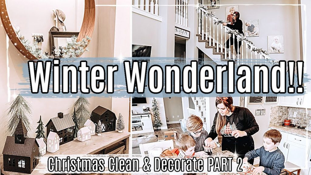 NEW!! CHRISTMAS CLEAN + DECORATE WITH ME 2020 :: CLEAN WITH ME & DECORATING for CHRISTMAS 2020